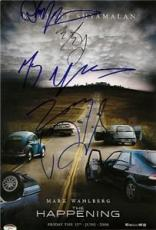 The Happening Signed Movie Poster
