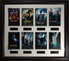 The Harry Potter Collection Framed Movie Poster Display