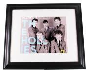 The Hollies Autographed Signed 11x14 Platinum Photo Graham Nash Clarke Haydock