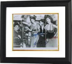 The Honeymooners facsimile sig 8x10 B&W Photo Custom Framed Jackie Gleason, Audrey Meadows, Art Carney & Joyce Randolph
