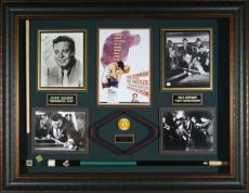 The Hustler Autographed Paul Newman Jackie Gleason Display