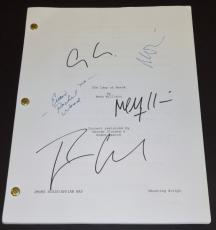 The Ides of March Autographed Script by George Clooney, Ryan Gosling, Evan Rachel Wood, Max Minghella, and Marisa Tomei