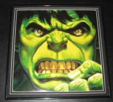 The Incredible Hulk Original Framed 1988 Marvel Poster 12x12