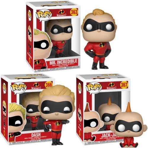 The Incredibles Funko Pop! Bundle
