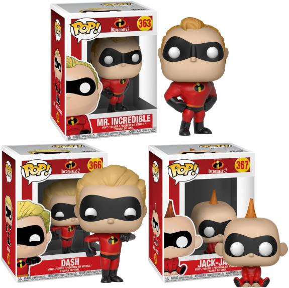 The Incredibles Funko Pop! Bundle