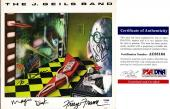 The J Geils Band Signed - Autographed Vinyl Album Cover with Album signed by J Geils and Magic Dick - Personalized To Dan - PSA/DNA Certificate of Authenticity (COA)
