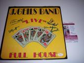 The J.geils Band Live 4sigs Jsa/coa Signed Lp Record Album