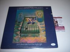 The J.geils Band Nightmares,j Geils Jsa/coa Signed Lp Record Album