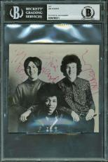 The Jimi Hendrix Experince Group Signed Autographed 4x5 Photograph Beckett BAS