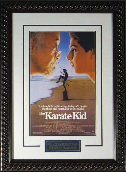 The Karate Kid Framed 11x17 Publicity Movie Poster