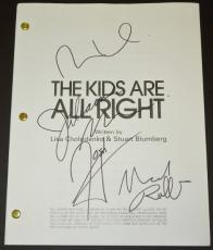 The Kids are all Right Signed - Autographed Script - Guaranteed to pass PSA or JSA by Julianne Moore, Mark Ruffalo, Josh Hutcherson, and Mia Wasikowska