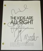 The Kids are all Right Signed - Autographed Script by Julianne Moore, Mark Ruffalo, Josh Hutcherson, and Mia Wasikowska - Guaranteed to pass PSA or JSA