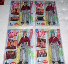 "The Monkees SIGNED ALL 4 Rhino Figures Toy Co. 12"" Figures Jones, Nesmith -JSA"