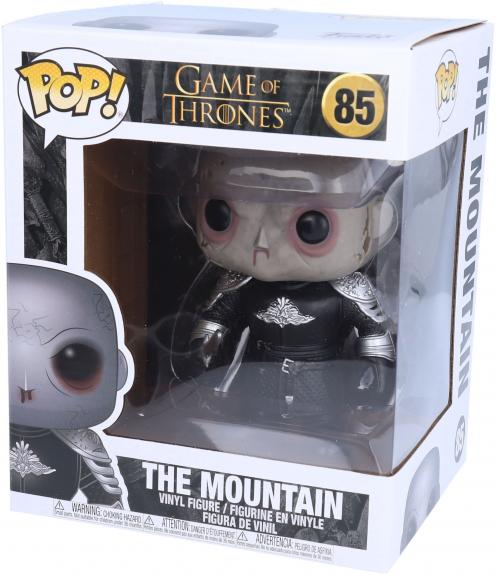 """The Mountain Unmasked Game of Thrones #68 Funko Pop! 6"""" Figurine"""