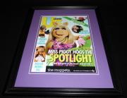 The Muppets 2015 ABC Framed 11x14 ORIGINAL Advertisement Miss Piggy