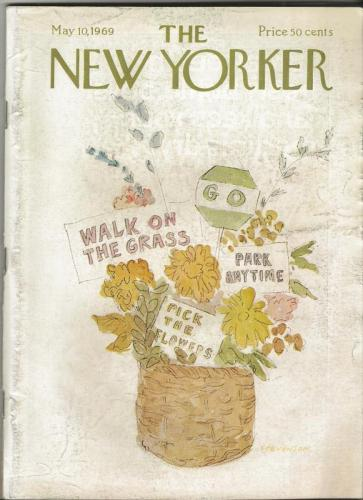 The New Yorker Magazine May 10 1969
