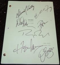 The Nines Autographed Full Script by Ryan Reynolds, Melissa McCarthy, Elle Fanning, Octavia Spencer, David Denman, Ben Falcone, and Hope Davis