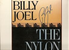 THE NYLON CURTAIN signed BILLY JOEL allentown - pressure - JSA AUTHENTICATED