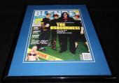 The Osbournes Ozzy 11x14 Framed ORIGINAL 2002 Blender Magazine Cover