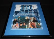 The Outer Limits 2000 Framed 11x14 ORIGINAL Vintage Advertisement Molly Ringwald