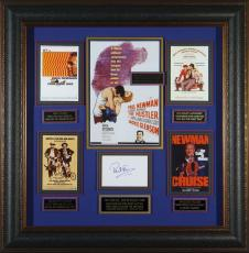 The Paul Newman Collection - Autographed Framed Display