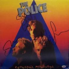 THE POLICE signed STING, COPELAND & SUMMERS don't stand so close - AUTHENTICATED