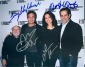 The Price autographed 8x10 photo by Tony Shalhoub Mark Ruffalo Danny Devito Jessica Hecht Broadway Play 1