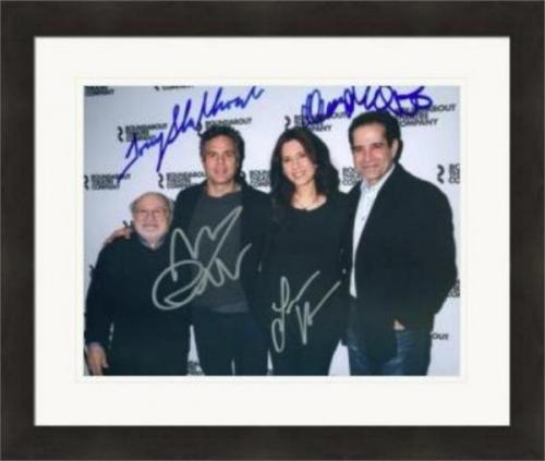 The Price autographed 8x10 photo by Tony Shalhoub Mark Ruffalo Danny Devito Jessica Hecht Broadway Play #1 Matted & Framed