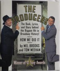 The Producers Signed Autographed Book (Brooks/Lane/Broderick) PSA/DNA #AC80294
