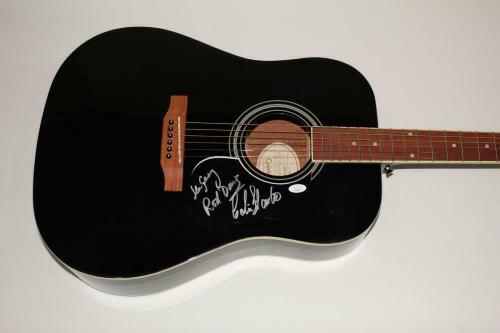 The Quarrymen X3 Signed Autograph Gibson Epiphone Acoustic Guitar - Beatles Jsa