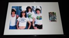 The Ramones 11x17 Framed ORIGINAL Topps Card & Photo Display