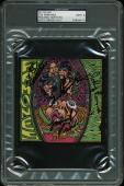 The Ramones (4) Joey, CJ, Marky, Johnny Signed CD Cover Graded 9! PSA Slabbed