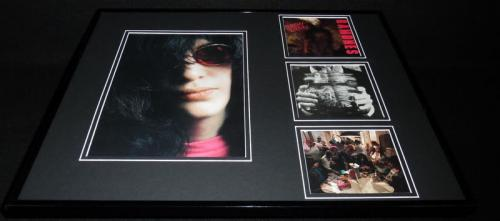 The Ramones Framed 16x20 Brain Drain CD & Photo Display