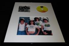 The Ramones Framed 16x20 CD & Photo Display