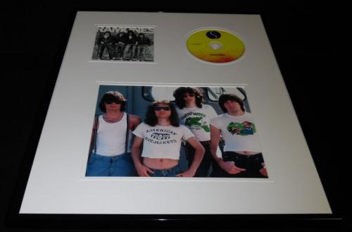 The Ramones Framed 16x20 CD & Photo Display