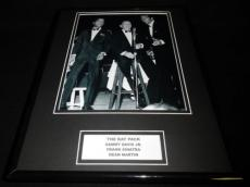 The Rat Pack Framed 11x14 Photo Display Frank Sinatra Dean Martin S Davis Jr