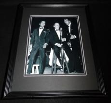 The Rat Pack in Concert Framed 8x10 Photo Poster Frank Sinatra Dean Martin Sammy