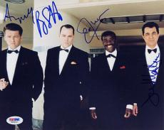 THE RAT PACK + LIOTTA + MANTEGNA + CHEADLE + MACFADYEN SIGNED 8x10 PHOTO PSA/DNA
