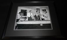 The Rat Pack Playing Pool Framed 11x14 Photo Poster Frank Sinatra Dean Martin