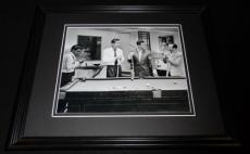 The Rat Pack Playing Pool Framed 8x10 Photo Poster Frank Sinatra Dean Martin
