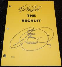 The RECRUIT Autographed Full Script by Al Pacino and Colin Farrell