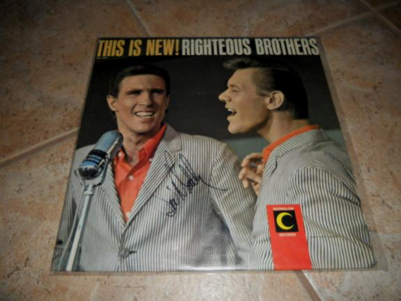 The Righteous Brothers Bill Medley This Is New Signed Autograph LP Album Record