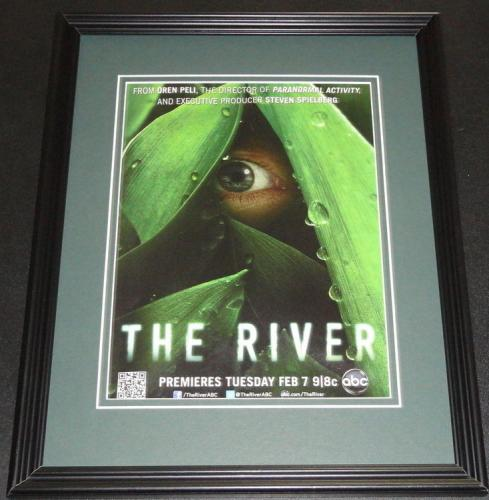 The River 2012 Framed 11x14 ORIGINAL Vintage Advertisement Steven Spielberg