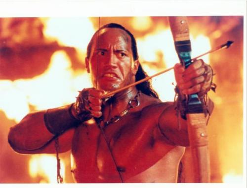 The Rock Dwayne Johnson 8x10 photo (Scorpion King) Image #1