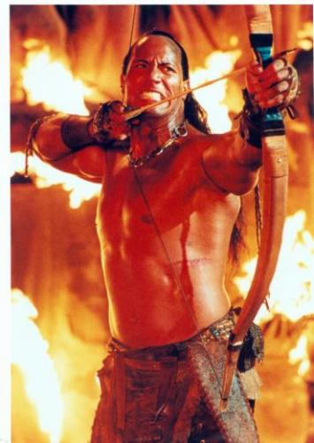 The Rock Dwayne Johnson 8x10 photo (Scorpion King) Image #2