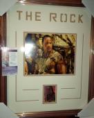 The Rock Dwayne Johnson Scorpion King Signed Autograph Matted & Framed Jsa Coa A