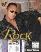 The Rock Dwayne Johnson Wrestling Legend Signed Autographed Magazine Jsa Coa
