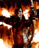"""THE ROCK """"THE MUMMY RETURNS"""" Signed 8x10 Color Photo"""