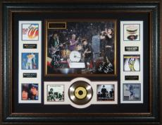 Rolling Stones Autographed 16x20 Framed Concert Photograph