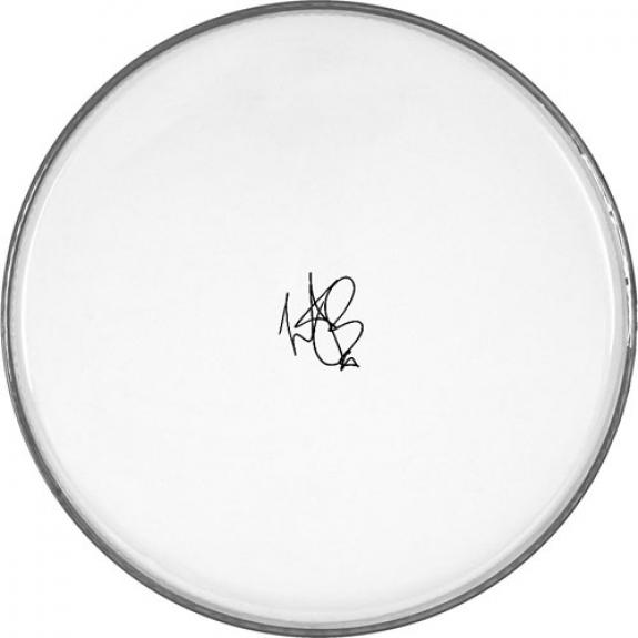 The Rolling Stones Facsimile Signature   Charlie Watts Clear Drumhead